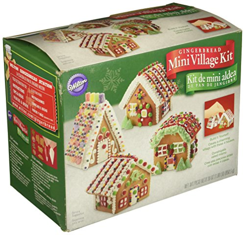 - Wilton Build It Yourself Mini Village Gingerbread House Decorating Kit