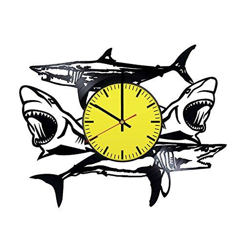 shark wall clock - 2