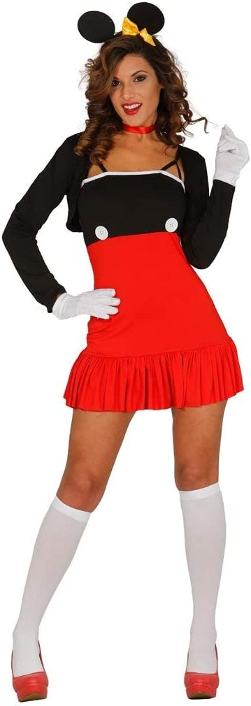 FIESTAS GUIRCA Disfraz de Mickey Mouse en Spandex: Amazon.es ...
