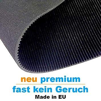 St/ärke: 3mm 3m/² 1,2 x 2,50m Feinriefenmatte Premium weniger Gummigeruch Farbe: Schwarz Gr/ö/ße w/ählbar