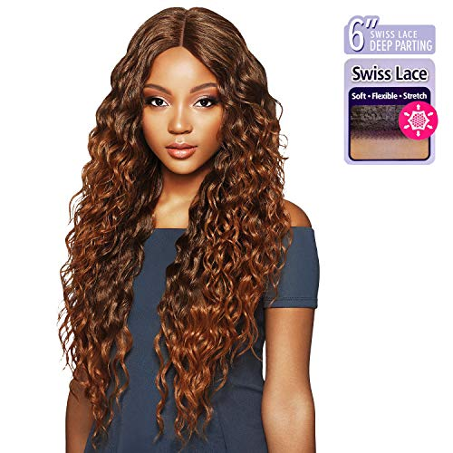 Outre Synthetic Hair Lace Front Wig Swiss lace 6