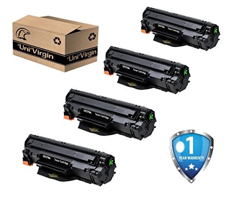 CF279A 79A Toner Cartridge Compatible with HP LaserJet Pro M12a, HP LaserJet Pro M12w, HP LaserJet Pro MFP M26nw, HP LaserJet Pro MFP M26a Printer – Black/4 Pack