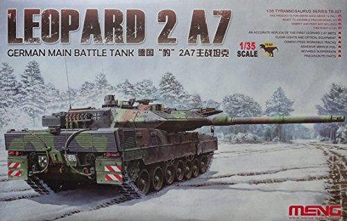 Meng TS modèle de 027-Kit German main Battle Tank Leopard 2A7