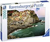 Ravensburger Cinque Terre, Italy 2000 Piece Jigsaw Puzzle for Adults - Softclick Technology Means Pieces Fit Together Perfectly