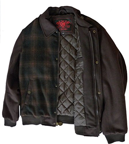 Coogi Men's Wool Jacket Brown Australia XX-Large (Coogi Coats)