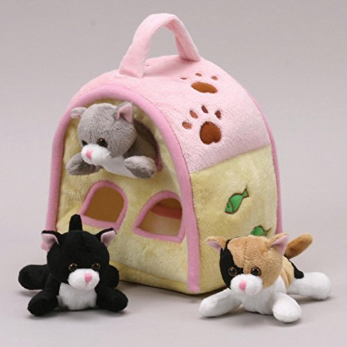 Cat Finger Puppet Play House 8'' by Unipak by Unipak