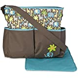 Cudlie! Wild Things Diaper Bag & Changing Pad