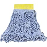 Rubbermaid Commercial Super Stitch Blend Mop, Small, 5-Inch Headband, Blue