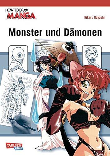 how-to-draw-manga-monster-und-dmonen
