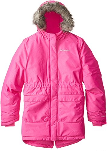 - Columbia Girl's Nordic Strider Jacket, Groovy Pink, Large