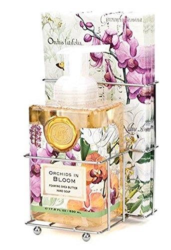 Michel Design Works Foaming Hand Soap, Orchids in Bloom 17.8 FL OZ