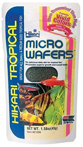 Hikari Micro Wafers Fish Food, 1.58-Ounce (Hikari Micro Wafers)