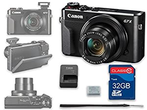 Canon PowerShot G7 X Mark II Digital Camera Wi-Fi Enabled - International Version from Al's Variety