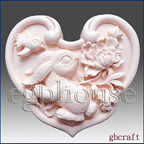 Oriental Zodiac Sign - Rabbit - Detail of High Relief Sculpture - Silicone Soap/polymer/clay/cold Porcelain Mold