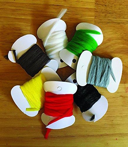 Creative Angler Poly Yarn for Fly Tying or Tying Flies (Yellow)