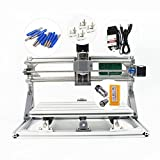2 In 1 Disassembled mini PRO 1610 + 500mw Laser&CNC Engraver Laser Engraving Machine Engraving size: 160x100x45mm