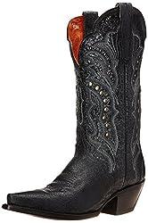 Dan Post Women's Carisma Western Boot, Brown, 9 M US