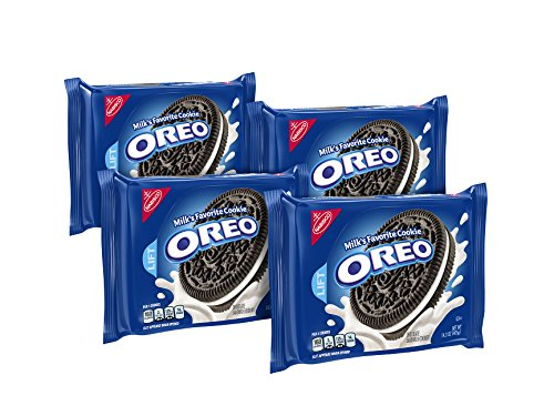 Oreo Chocolate Sandwich Cookies (14.3-Ounce Packages, 4-Pack)