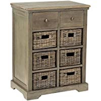 East at Main Abernathy Mahogany Nightstand, Brown, (15x25.5x33.5)
