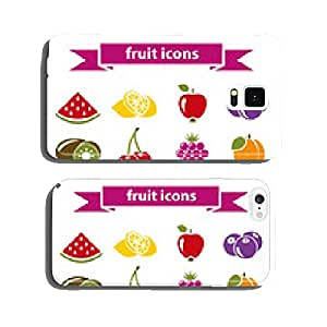 fruit icons cell phone cover case Samsung S5