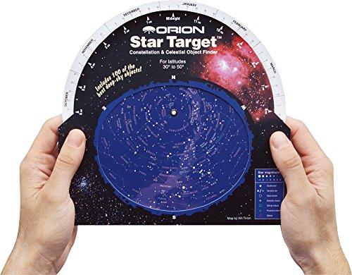 Image of Orion 04110 Star Target Planisphere (Black)
