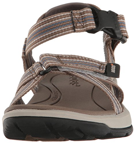 Bogs Womens Rio Stripes Athletic Sandal Brown/Multi j1BbsJsrS