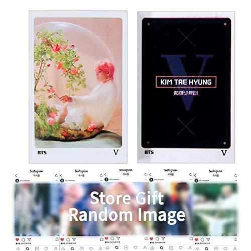 BTS V Photocard 56pcs - Bangtan Boys V Kim Taehyung PHOTO MESSAGE CARD PHOTOCARD Set New Version 1902