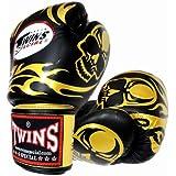 Twins ボクシンググローブ スカル Gold/Black