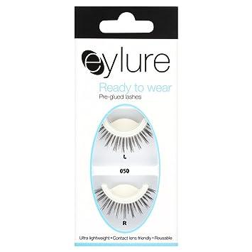 36e537418d6 Eylure Pre Glued Strip Lashes No. 050: Amazon.co.uk: Beauty