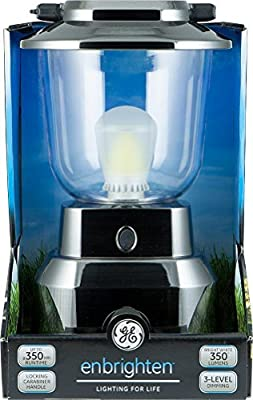 General Electric Super Bright White Latern, LED Technology 300 Lumens