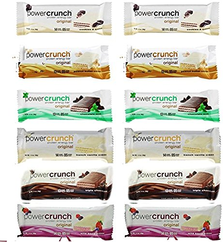 Power Crunch Protein Assorted Included product image