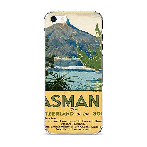 vintage-poster-tasmania-iphone-5-5s-se-case