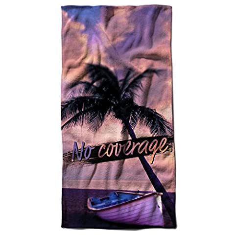 Palm Vacation Sea Holiday Island Life Beach Towel 28