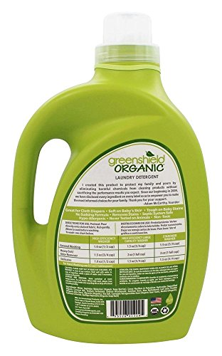 Greenshield Organic Usda Certified Organic Baby Laundry