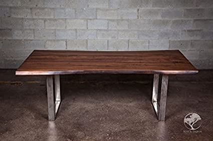 Outstanding Live Edge Black Walnut Dining Table 84In X 38In X 30In Download Free Architecture Designs Sospemadebymaigaardcom