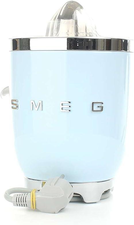 SMEG Exprimidor CJF01PBEU, 70 W, Acero inoxidable, azul pastel ...