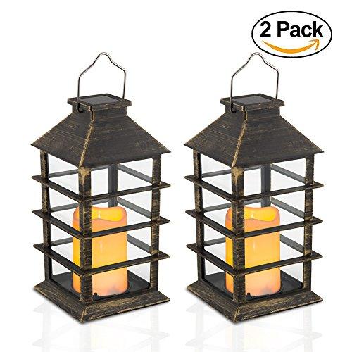 Flickering Candle Lantern - 14