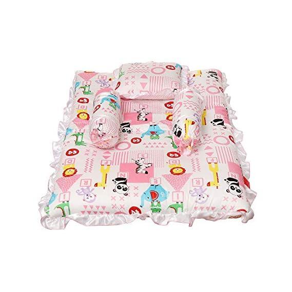 Fisher Price Cotton Baby Bedding Set Pink