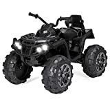 Best Choice Products 12V Kids 4-Wheeler ATV Quad Ride-On Car Toy w/ 3.7mph Max, LED Headlights, AUX...