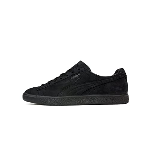 a5c38fb8d307 PUMA Men s Clyde Fleur De Lis Ennoir Black 364495 01 (Size  8)   Amazon.co.uk  Shoes   Bags