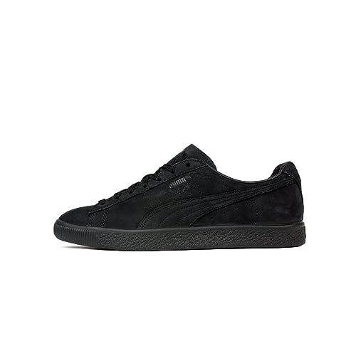 a5c38fb8d307 PUMA Men s Clyde Fleur De Lis Ennoir Black 364495 01 (Size  8)   Amazon.co.uk  Shoes   Bags