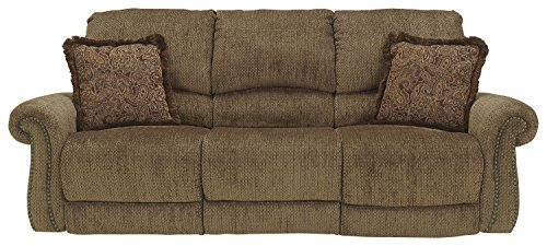 Signature Design by Ashley 2930088 Umber Reclining Sofa, Manual