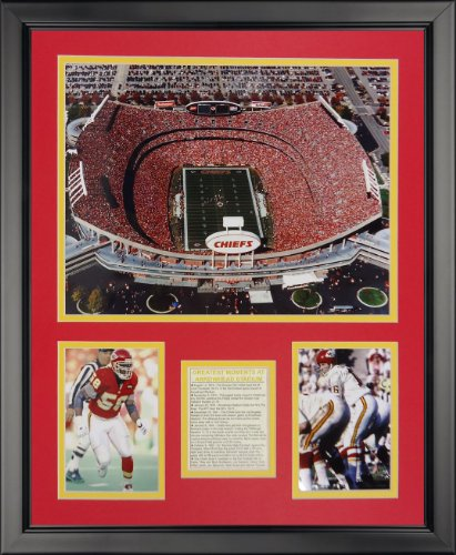 Legends Never Die Arrowhead Stadium Framed Photo Collage, 16