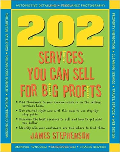Book 202 Services You Can Sell For Big Profits