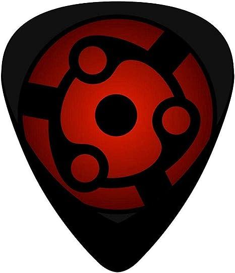 Sharingan Celluloid Plectrums 12-Pack, Púas de guitarra personalizadas: Amazon.es: Instrumentos musicales