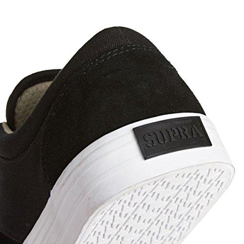 Supra Chino Camoscio Scarpe ginnastica Nero (nero / bianco)