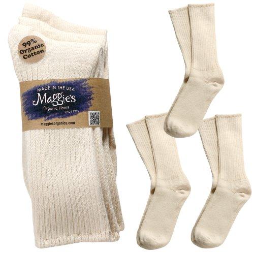 Maggies Organic Cotton Crew Tri pack