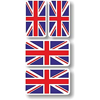 Amazon.com: British Flag Union Jack Oval Shape Metal Car