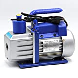 HFS (R) Vacuum Pump Double Stage 3CFM ; 110V/60HZ ; Inlet: SAE 1/4