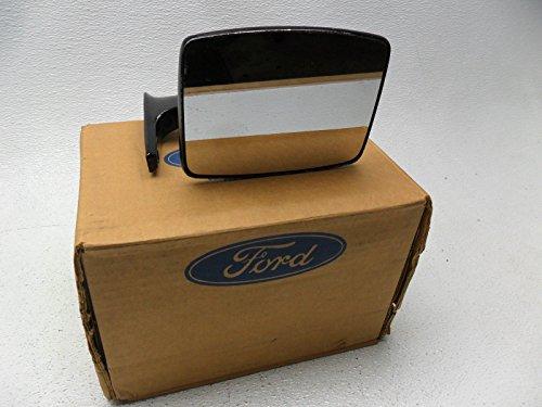 New OEM Ford Right Manual Door Mirror F150 F250 F350 Bronco Ranger (Ford Bronco Black Manual Mirror)